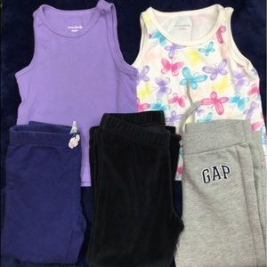 Toddler Girls Tops & Pants